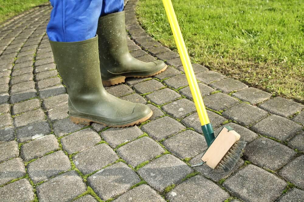 čistenie dlažby od machu a iných Bratislava Položíme
