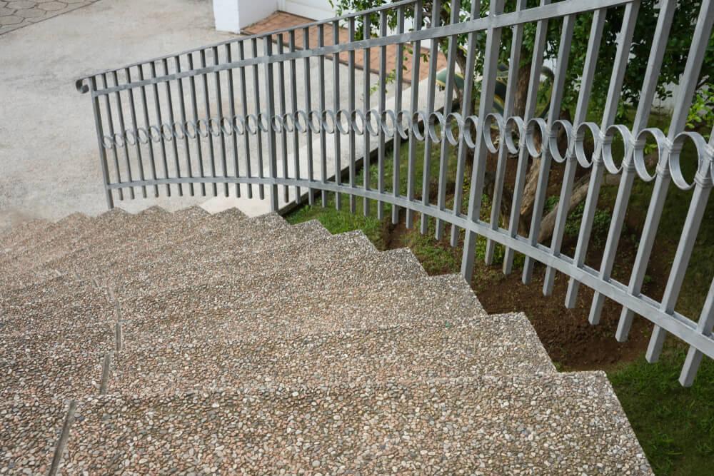 Vymývaná dlažba na schody Bratislava