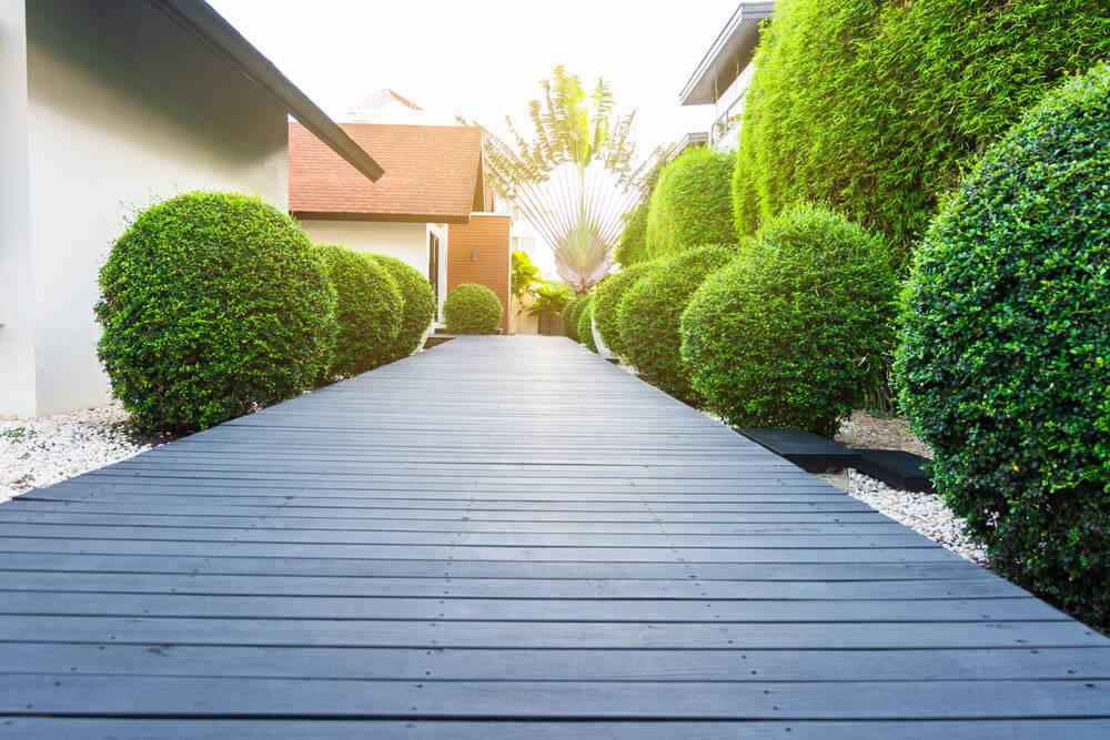 Záhradný chodník z dreva Bratislava